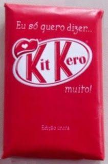 cartão kitkero, kitkat, presente DIY,