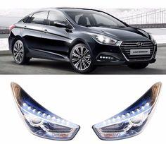 Hyundai i40 2015 Genuine OEM LED DRL Head Lamp Assy LH RH 2EA