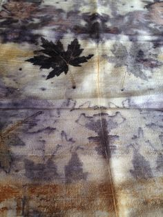 Maple leaves on silk shantung http://www.intrecci.co.uk/ProductDetails.asp?ProductCode=SC0061