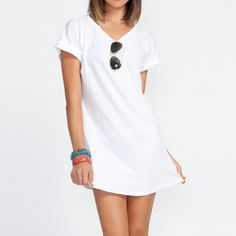 Coverup Women's White, now featured on Fab.