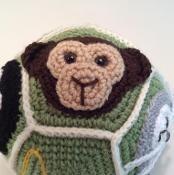 Monkey Applique - via @Craftsy