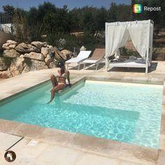 Vasche In Resina Per Piscine.Progetto Piscina Pool Naturale Sabbia E Quarzo Resina