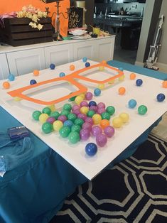 – Parties by Peggy & Trisha 2nd Birthday Party Themes, Construction Birthday Parties, Birthday Fun, First Birthday Parties, Birthday Party Decorations, Birthday Party Invitations, Birthday Ideas, Party Activities, Backdrops For Parties