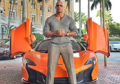 Super movie star, all in all giant human, The Rock can be seen driving several extravagant, awesome, gaudy cars in the new HBO Series Ballers. The Rock plays The Rock Dwayne Johnson, Rock Johnson, Dwayne The Rock, Dwayne Johnson Ballers, Dwyane Johnson, Lamborghini Aventador Roadster, Ferrari Laferrari, Porsche Panamera, Range Rover Sport