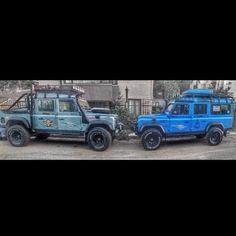 Brothers  #landrover#defender#landroverdefender#defender130#td5#defender110#onelifeliveit#landy#mud#offroad#exoticcar#turkishcar#picoftheday#travel#safari#luxurylife#carporn#camping#dakar#cameltrophy#extremesport#adventure#likeforlike#nikon#harleydavidson#followme#oranlıadventureteam by defender130 Brothers…