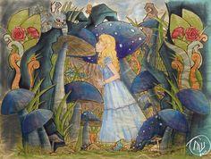 Alice nel Paese delle Meraviglie Fan Art