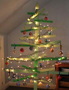 upcycled tree bronstein lights