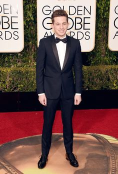 Charlie Puth - 73rd Annual Golden Globes