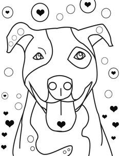 Pitbull Coloring Pages | Coloring Pages