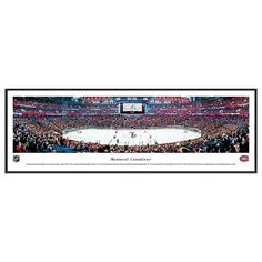 Montreal Canadiens Hockey Arena Framed Wall Art, Multicolor