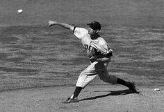 1948, Cleveland Indians pitcher Bob Lemon