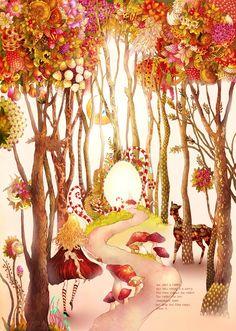 çizgili masallar: Alice in Wonderland by Song Gum Jin