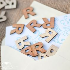 """100 Wood Letter R - 1"""" - Wooden Alphabet Letters - Birthday Party Table Decorations by ConfettiBasket on Etsy https://www.etsy.com/listing/259343266/100-wood-letter-r-1-wooden-alphabet"""
