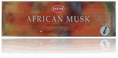 HEM African Musk Incense 8 Sticks Box - 200 Sticks Total