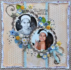 Bente, Paper and Glue Heaven - the coolest girl. love the chicken wire in the background. Scrapbook Pages, Scrapbooking, Cool Girl, Cool Stuff, Paper, Frame, Chicken Wire, Layouts, Heaven