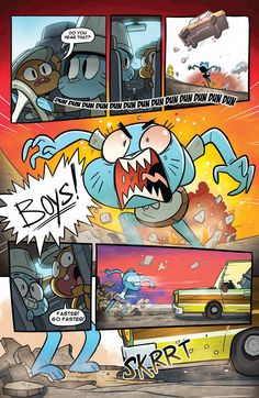 Preview: The Amazing World of Gumball Vol. 1 TP,   The Amazing World of Gumball…