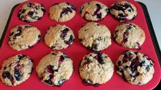 Recette: Muffins aux bleuets santé. Jus D'orange, Biscuits, Bbq, Cookies, Breakfast, Food, Brownies, French Vanilla, Barbecue