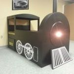 A Train Bed for Dawson