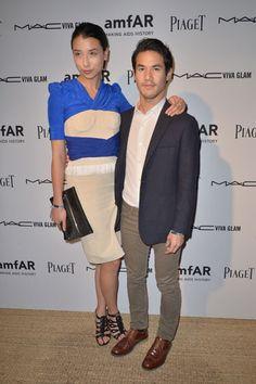 amfAR Inspiration Miami Beach Party - Joseph Altuzarra and Lily Kwong
