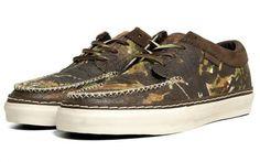Vans Vault 106 Moc LX - Brushed Camo Horween Leather | KicksOnFire
