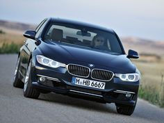 2012 BMW 3-Series car front