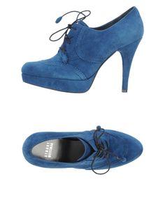 stuart-weitzman-blue-lace-up-shoes
