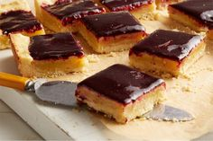 Find the recipe for Lime Cornmeal Bars with Blueberry Glaze and other blueberry recipes at Epicurious.com