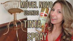 Reformando um móvel antigo com tinta Spray!