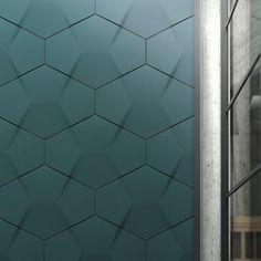 alternating hexagons