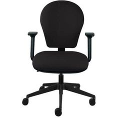 Energi-24 Posture Task Office Operators Chair Black | Viking Direct UK Uk Today, Chair Mats, Black Office, Ergonomic Office Chair, Chair Types, Hard Floor, Second Best, Chair Fabric, Garden