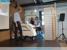 Dr. Harmos Ferenc bőr- és nemigyógyász, kozmetológus BISON hosszú impulzusú Nd:YAG lézerrel történő kezelési bemutatója.
