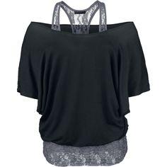 Lace Bat Double Layer/ Black Premium by EMP, 29,99€