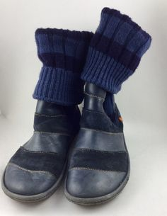 Mein Dunkelblaue Stiefel von Art von The ART Company. Größe 40 für 65,00 €. Schau es dir an: http://www.kleiderkreisel.de/damenschuhe/stiefel/157919762-dunkelblaue-stiefel-von-art.