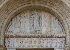 Tympan - Porte Miégeville - Basilique Saint-Sernin à Toulouse - Art roman — Wikipédia