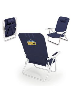 Denver Nuggets Tranquility Folding Chair - 7420672