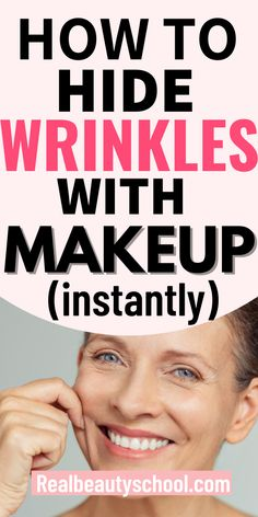 Easy Makeup, Makeup Hacks, How To Apply Makeup, Simple Makeup, Makeup Guide, Beauty Makeup Tips, Best Beauty Tips, Beauty Hacks, Makeup For Over 60