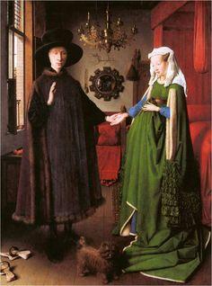 얀 반 에이크, 아르뇰피니의 결혼, 1432년 경, 런던 내셔널갤러리