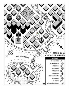 A map of a city I made for the Spanish classes that I teach. Helps the kids learn new vocabulary and how to give directions. If you would like to use it in your classroom I can send you a higher re...