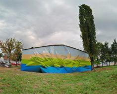3D Graffiti and Paintings by Peeta painting murals graffiti 3d