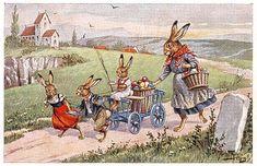 Ostereiertransport / von Arthur Thiele