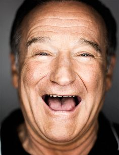 Laughter is beautiful .. May you find peace on the other side Robin.