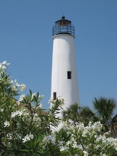 St. George Island is not too far from Tallahassee, Florida.  It can often be found on Top Ten lists as having one of the most beautiful beaches in the U.S.  Pictured here: The St. George Island Lighthouse.