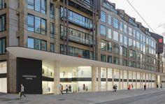 Conféderation Centre, Revitalisierung der Einkaufsgalerie, Genf /// Die Shopping-Galerie wird funktional und harmonisch /// Das 1985 eröffnete Confédération Centre im Stadtzentrum von Genf ist in die Jahre gekommen. Die Besucherzahlen sind markant zurückgegangen. Eine Erneuerung der Shopping-Galerien drängte sich auf.   IttenBrechbühl
