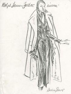 Ralph Lauren Fashion Sketch