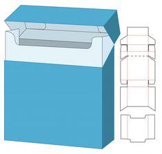 Box Templates Printable Free, Box Design Templates, Paper Box Template, Envelopes, Cigarette Box, Box Patterns, How To Make Box, Vector Freepik, Diy Box