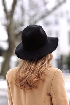 The felt fedora hat —the quintessential Fall and Winter headwear. Click to shop on ShopStyle.com