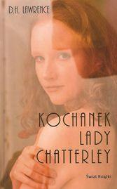 """Okładka książki """"Kochanek Lady Chatterley"""""""