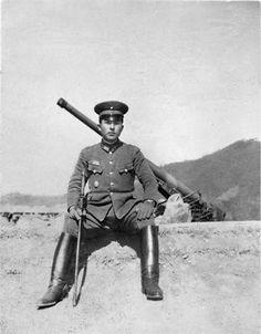 昭和19年3月、京城(現在のソウル)の陸軍将校。