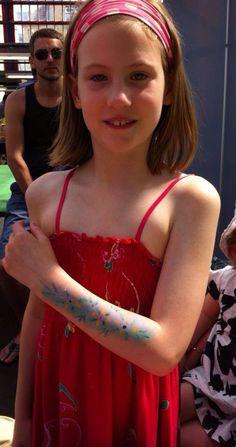 Body art at Upmarket Sunday