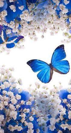 Descargar Fondos De Pantalla De Mariposas Para Celular Blue Butterfly Wallpaper, Flower Phone Wallpaper, Butterfly Painting, Butterfly Art, Love Wallpaper, Cellphone Wallpaper, Galaxy Wallpaper, Wallpaper Backgrounds, Iphone Wallpaper